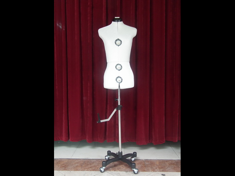 EMT-YKT005W White adjust tailor mannequin_02