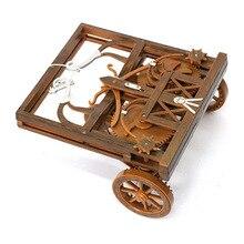 DIY child puzzle toys model 3D kits science DIY children's adult science puzzle toy Da Vinci manuscript assembly model