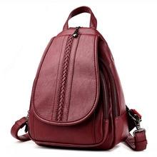 Mode Frauen Rucksack Aus Echtem Leder Rucksack Frauen Reisetasche Hochschule Adrette Schultasche Für Jugendliche Mädchen Mochila Femininas