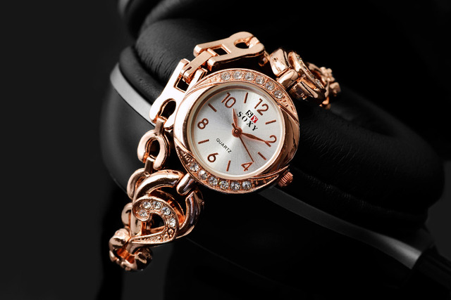 2018 High-quality Fashion Gift Clock New Brand SOXY Wrist Watches for Women Female Bracelet Watch Luxury Montre Femme Relogio