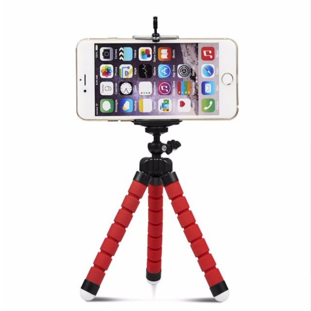 Car style mobile phone holder flexible octopus tripod bracket selfie stand mount manfrotto support For iPhone XIAOMI camera