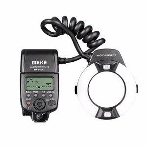 Image 2 - Светодиодный кольцевой светильник Meike MK 14EXT i TTL для Nikon D5600 D5200 D5100 D5000 D3200 D3100 D90 D750 D600