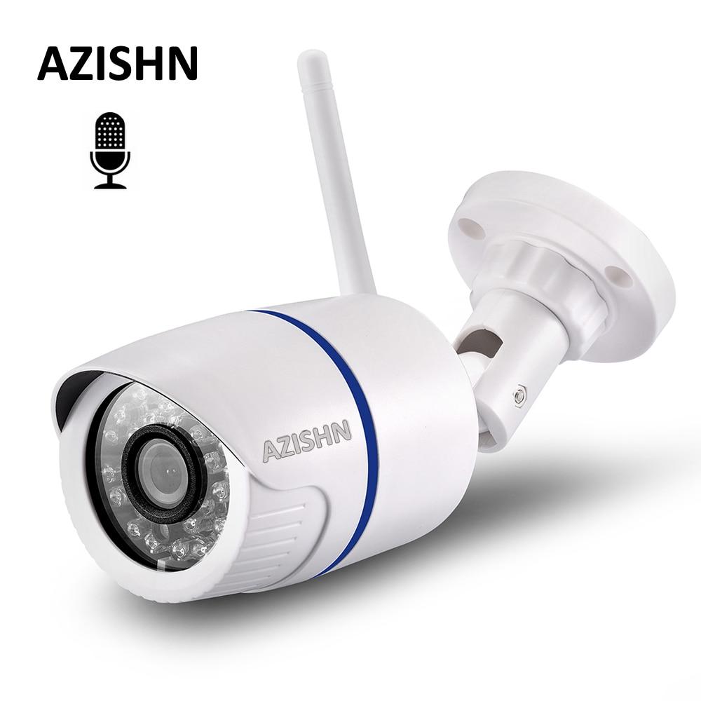 Azishn Audio 1080p 960p 720p Wifi Ip Camera 24ir