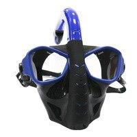 Full Face Diving Mask Scuba Snorkel Spearfishing Dive Mergulho Equipment Underwater Anti Fog Snorkeling For Swimming 3 Colors