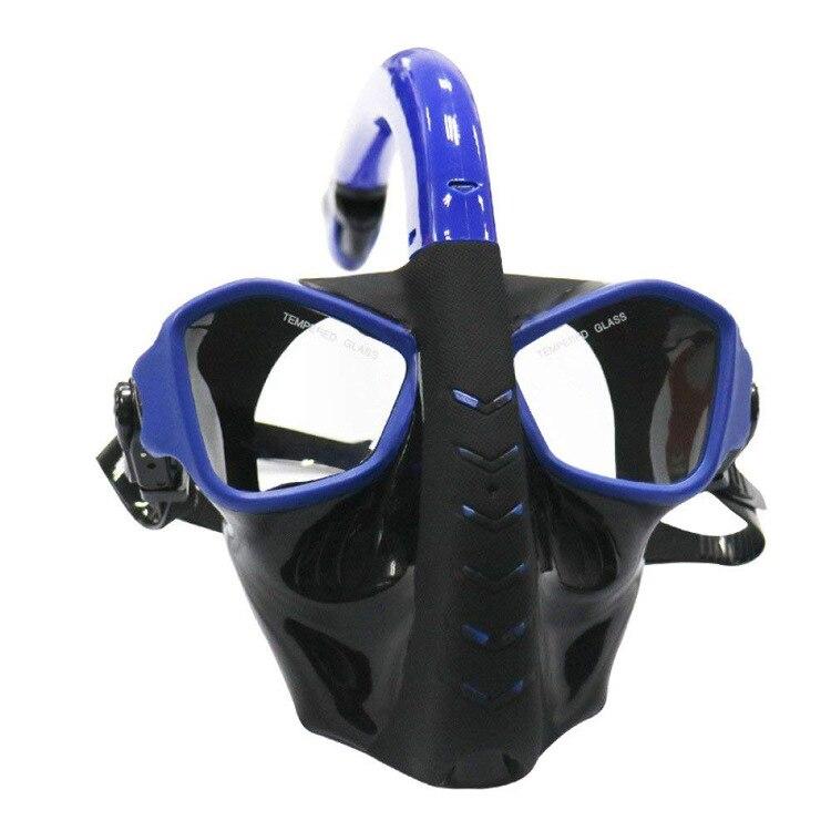 Masque de plongée intégral plongée avec tuba plongée sous-marine équipement de plongée Mergulho Anti-buée pour la natation 3 couleurs