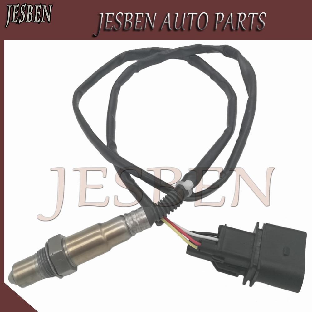 Lambda Oxygen Sensor For Audi A4 TT 99-06 VW Jetta 1.8L 0258007057 0258017014 021906262B 06B906265D 06B906265M 234-5117 2345117 lambda o2 oxygen sensor 5 wire 0258007057 17014 lsu4 2 wide band o2 sensor for audi a4 tt vw golf jetta beelte