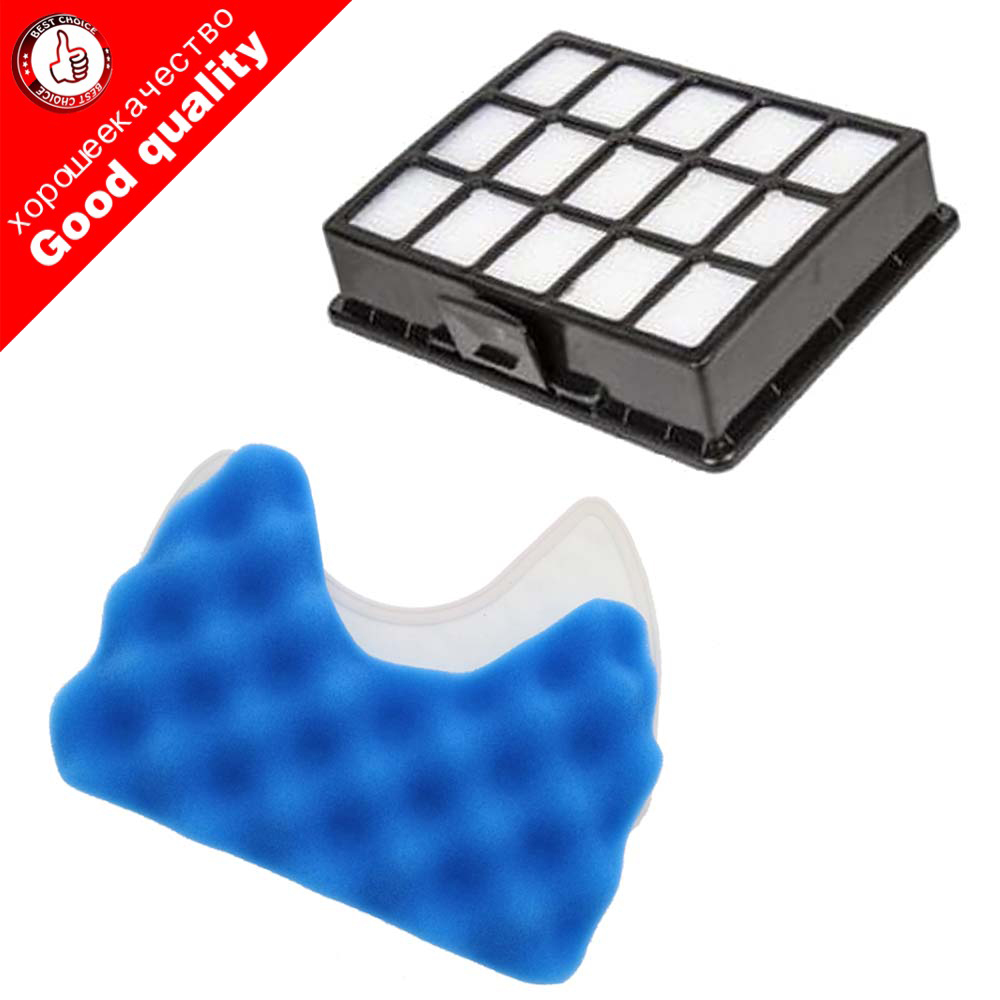 Vacuum Cleaner Filter Spare Parts Set Kit Of Filters And Sponge Filter For Samsung DJ97-00492A SC6520 SC6530 /40/50/60/70/80/90