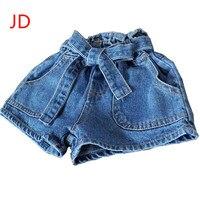 Cô gái mùa hè knickers bull-dùi trận đấu chatelaine panty Trẻ Em của jeans JD