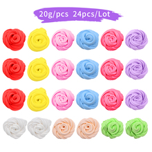 24PCS DIY Slime Fluffy Foam Soft Clay Supplies Light Cotton Charms Craft Kids Adults Toys
