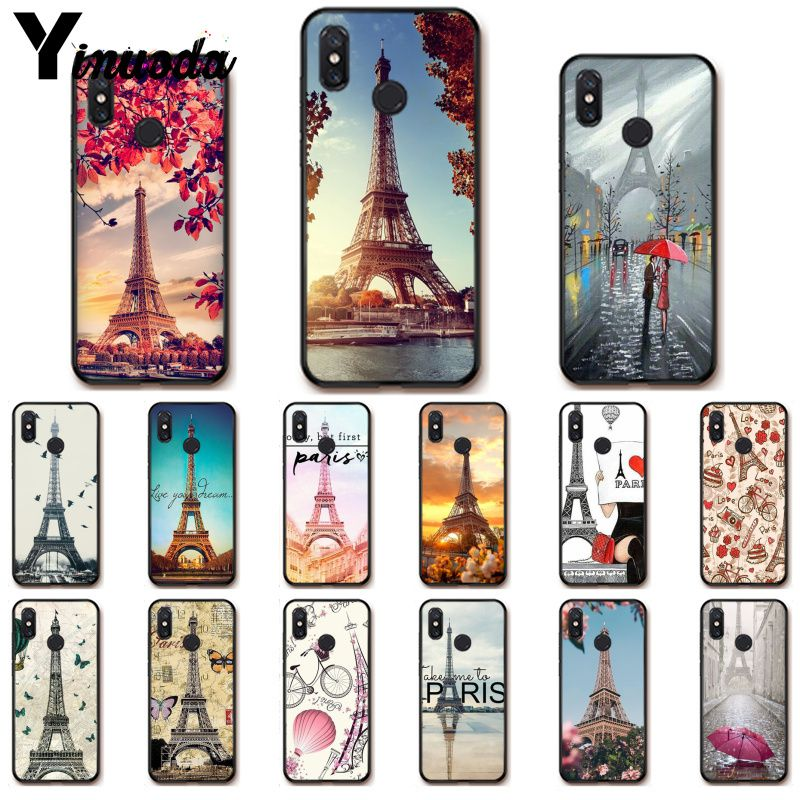 Yinuoda Liebe Paris eiffelturm Frankreich Telefon Fall Shell für Xiao mi Redm4X 6A 5A 7A Rot mi 5 5 plus Note8 8Pro 7 mi A1 A2Lite
