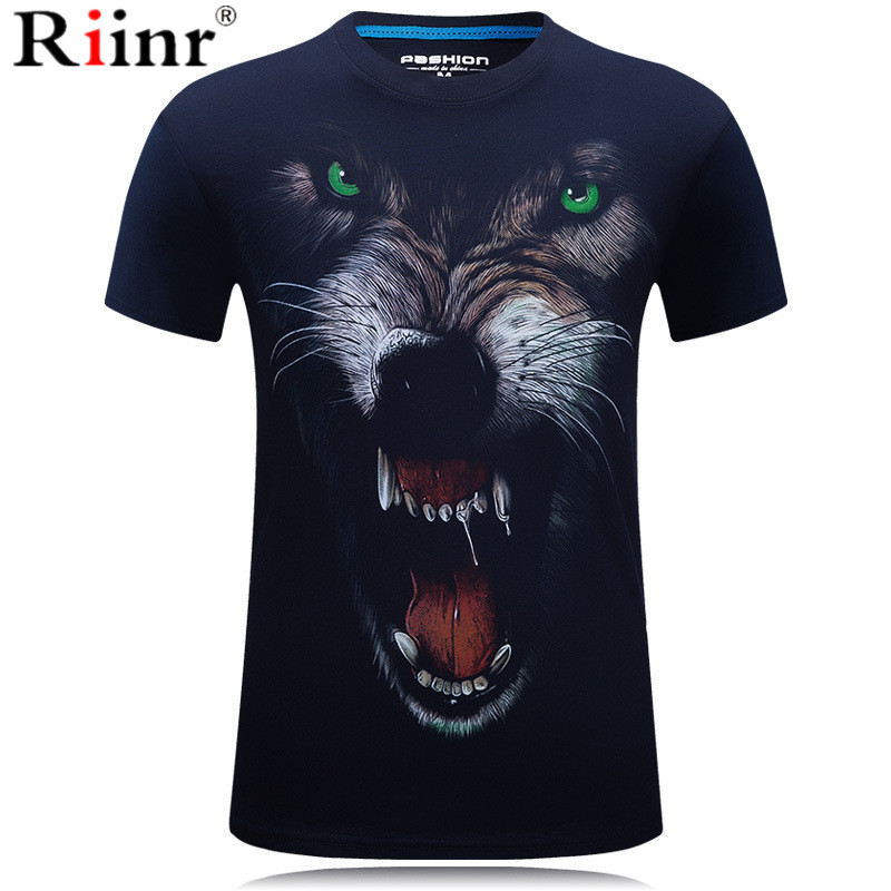 2019 New fashion King of the Forest Lion 3D print T-shirt Men Sleeve Casual Male Wonder T-shirt Tops Dropship Tee Shirt Homme