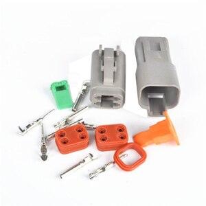 Image 4 - Водонепроницаемый Электрический автомобильный провод, 1 комплект, 2/3/4/6/8/10/ Pin, 14 18 AWG 12P, гнездовой и мужской, серый, для соединителя автомобиля