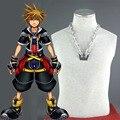 Athemis anime cosplay Kingdom Hearts Sora cosplay accesorios Collar colgante de Joyería de moda ropa