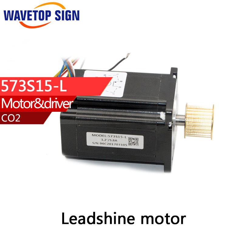 leadshine Motor  573S15L  3 phase Stepper Motor Stepper Motor For CNC Machine Laser Engraveing Machine leadshine 3 phase stepper motor 863s68h 3phase step motor laser engraver machine cnc router