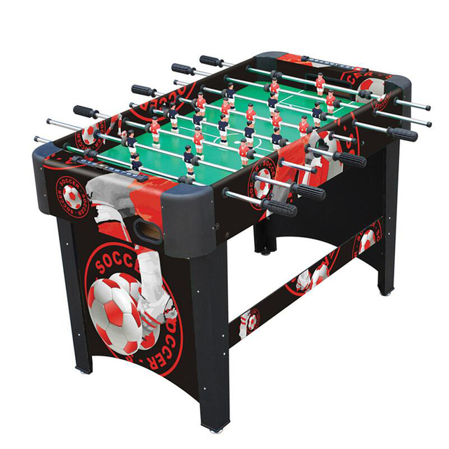 Table Football Adult Soccer Table Professional 8 Pole Football Game Table  Children Sports Table Soccer Game