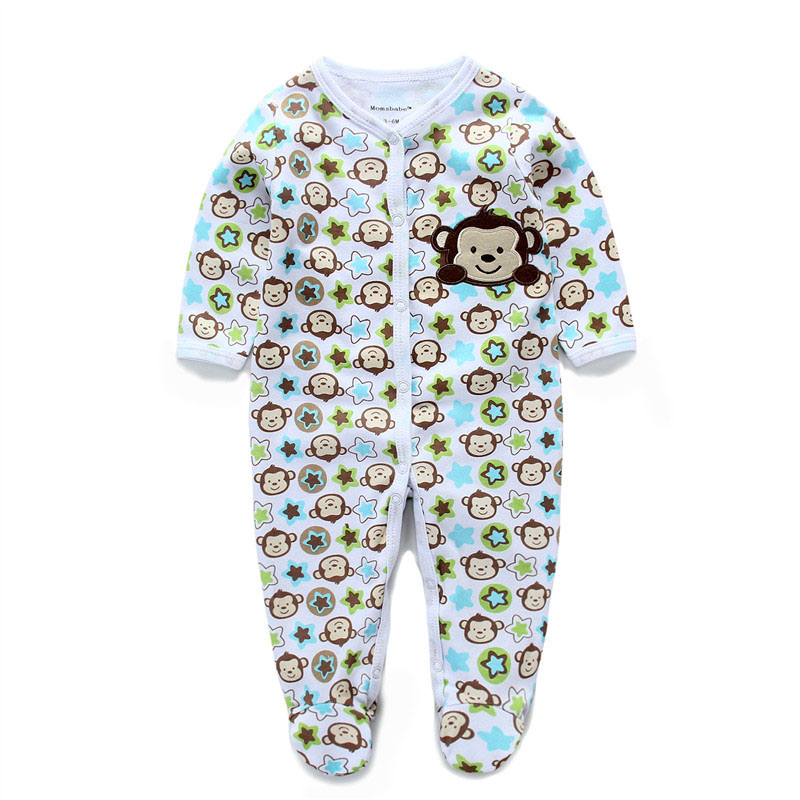 2017 New in Baby Clothing Cartoon Newborn Baby Boy Girl Clothes Long Sleeve Infant Baby Rompers Warm Baby Clothing Jumpsuit baby rompers 2017 new arrival cotton infant clothing long sleeve baby boy and girl body jumpsuit ropa bebe newborn clothes