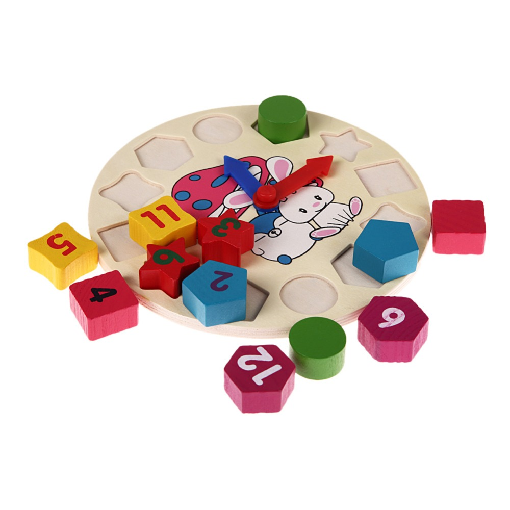 Wooden-12-Number-Clock-Toy-Baby-Colorful-Puzzle-Digital-Geometry-Clock-Educational-Clock-Toy-High-Quality-For-Kids-Children-Gift-5