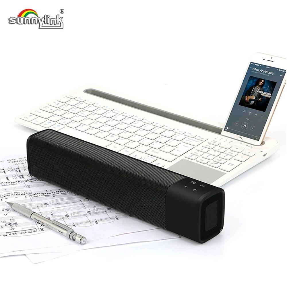 SUPER BASS WIRELESS MINI BLUETOOTH SOUNDBAR SPEAKER, MAXXBASS DSP 3D SOUND MINI SOUND BAR WITH BT/TF/AUX FOR PC/SMART PHONES,