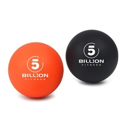 2 bolas de Lacrosse movilidad disparador miofascial punto de liberación masaje pelota de ejercicio con bolsa gratis