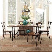 mesa comedor madera RETRO VINTAGE