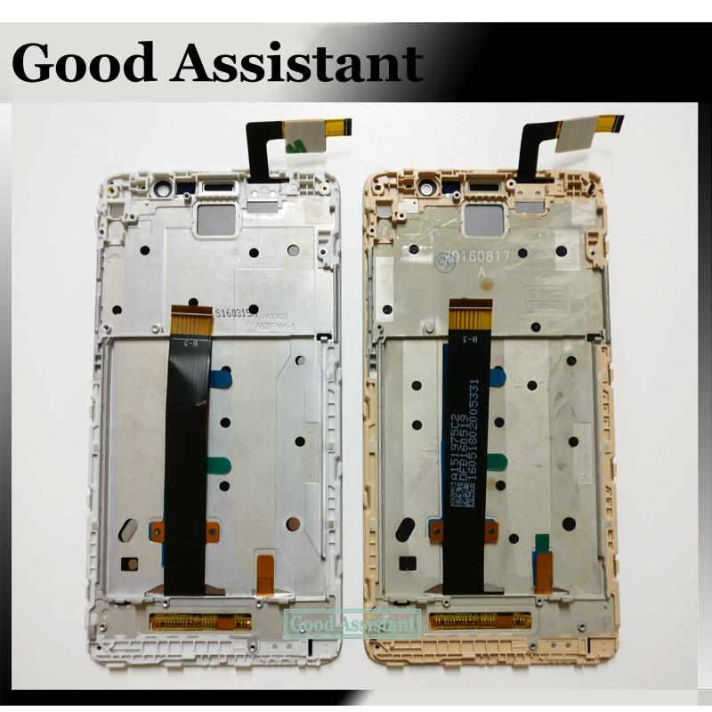imágenes para Negro/Blanco/Oro Pantalla LCD Táctil Digitalizador Asamblea + Frame Para Xiaomi hongmi Redmi nota 3 note3/Redmi Nota 3 Pro 150mm