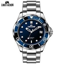 Liber Aedon Men Suit Watches Top Brand Luxury Mens Mechanical Mutilfunction Waterproof Sport Wrist Watches Relogio Masculino