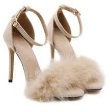 ca5ced3addddfc Lolita Shoes Sale Promotion Pu Office   Career Flock Zapatos De Mujer 2019  Women Pointed Heels Sandals Woman Shoes High No.80