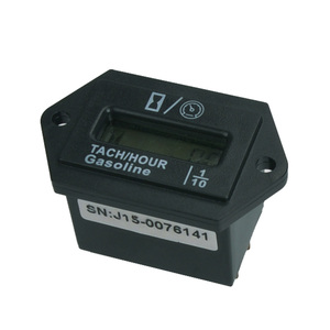 Snap Digital Inductive Industrial Gasoline Tach Tachometer Hour Meter FOR marine ATV Boat tractor generator HM008L(China)