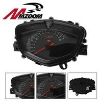 Motorcycle Speedometer Motorbike LCD digital speedometer with dual range seven color screen odometer Tachometer