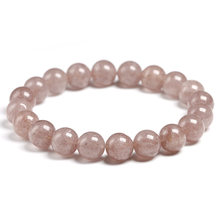 Подлинный натуральный клубничный кварц розовый кристалл 6 мм