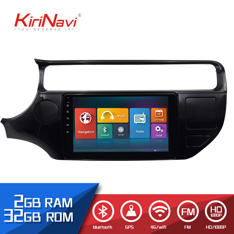 KiriNavi 2 din Car Radio 9 Touch screen Auto Audio For KIA RIO DVD Android GPS Multimedia Navigation System WIFI BluetoothKiriNavi 2 din Car Radio 9 Touch screen Auto Audio For KIA RIO DVD Android GPS Multimedia Navigation System WIFI Bluetooth