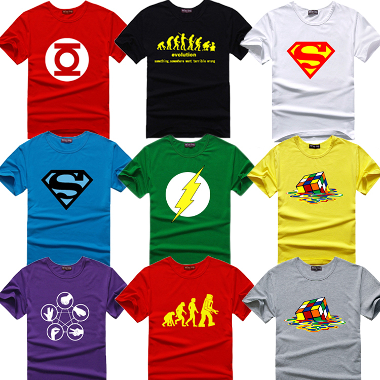 Evolution of Lego Mens T Shirt Big Bang Theory Sheldon Cooper Bazinga