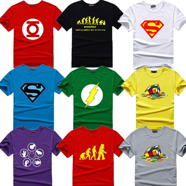 The Big Bang Theory camiseta Sheldon hombres imprimir