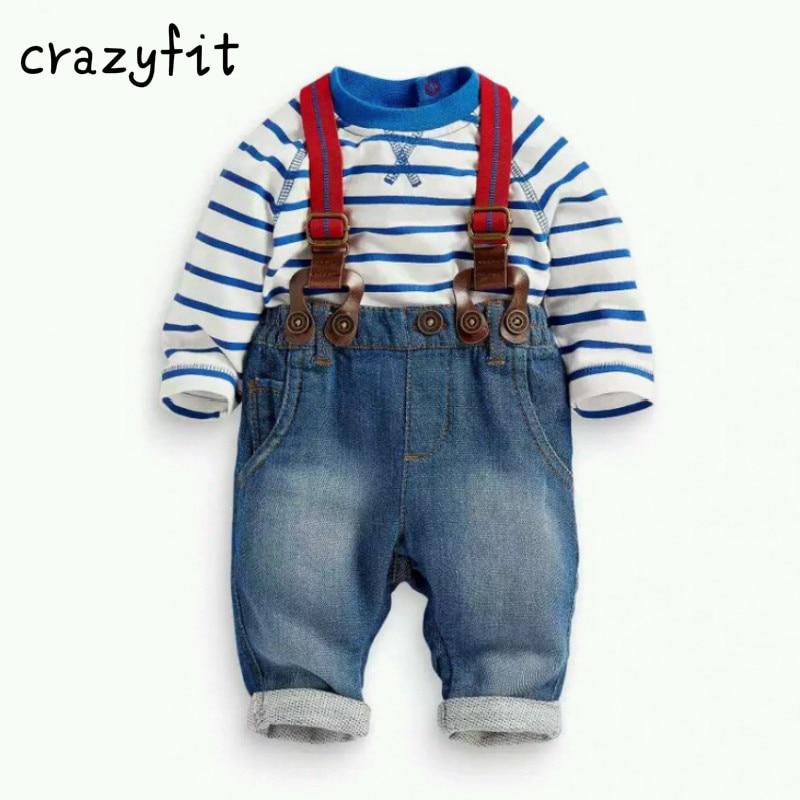 fashion kids clothes grid shirt + suspender newborn Long sleeve baby boy clothes Bowknot gentleman suit 7