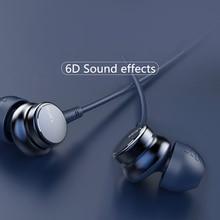 UiiSii HM9 популярный проводной шумоподавление динамические для прослушивания музыки с усиленными басами металлические наушники-вкладыши с микрофоном наушники для iphone Xiaomi samsung