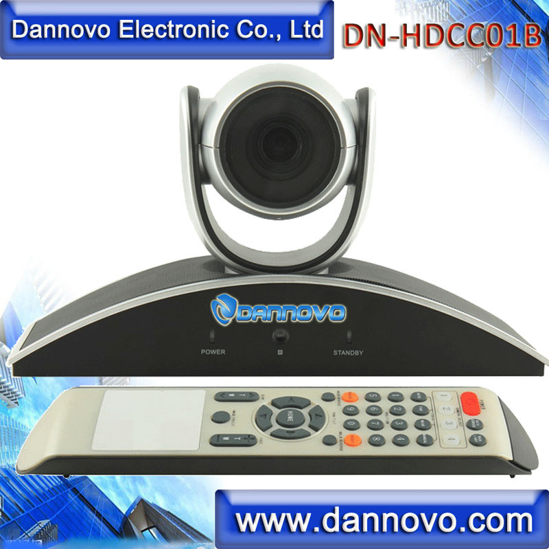 DANNOVO Wide Angle HD USB Web Conference camera,Pan/Tilt,Fixed Lens,720P,Plug & Play,Similar to Polycom EagleEye Camera