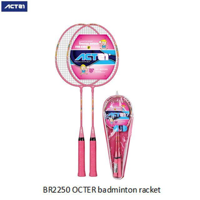 ACTEI Full Carbon Badminton Racket Sports Home Iron Alloy Split Badminton Racket Set Adult Children Badminton Racket