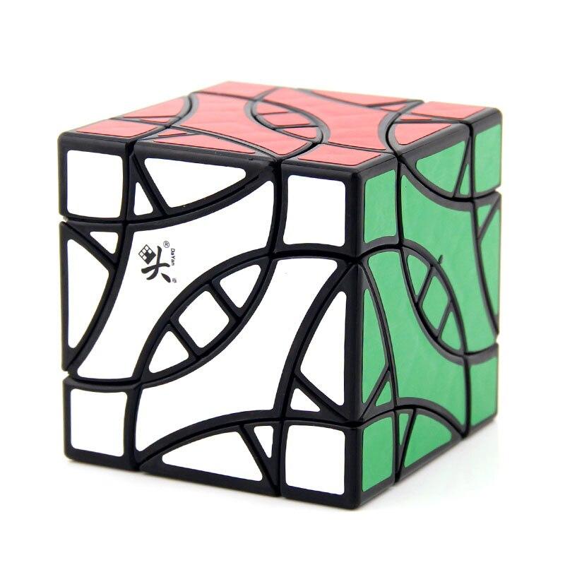 DaYan Perruche BiYiNiao 12-axe 3-rang Magie Cube Noir Stickerless Étrange Forme Cube Jouets Pour Enfants - 2