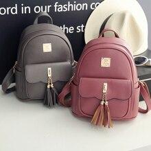 Женщины рюкзак черный из искусственной кожи женские рюкзаки модная школьная для девочек сумки женские Back Pack известный бренд Mochilas