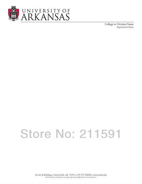 Stationary Printing, Business Letterhead, A4(21*297cm), 120gsm Wood