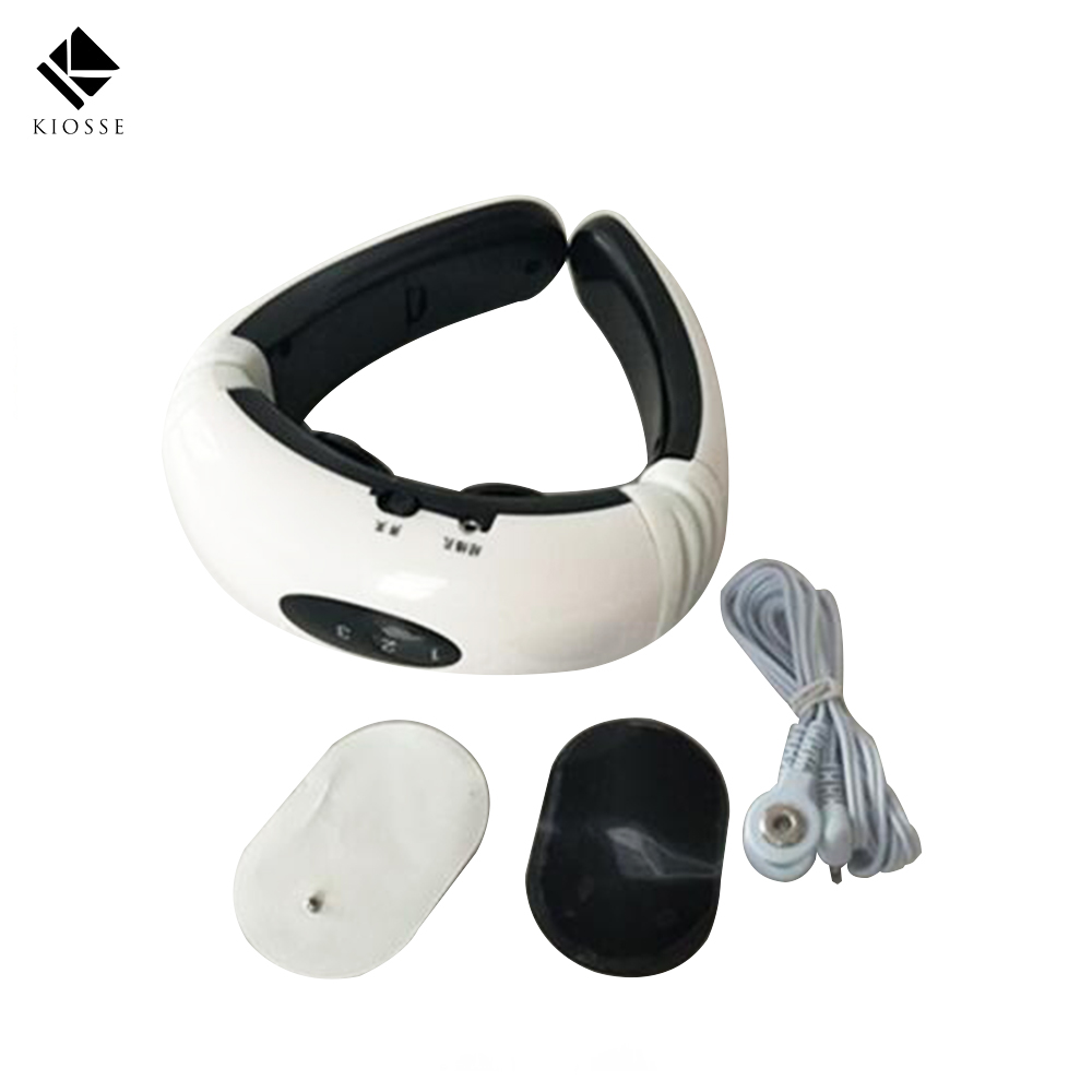 Electric pulse Wireless Remote Control Neck Body massager Impulse Vertebra Treatment massage Acupuncture magnetic therapy A271 набор для чистки бассейна intex 29057 от 549см сачок щетка вакуумная насадка