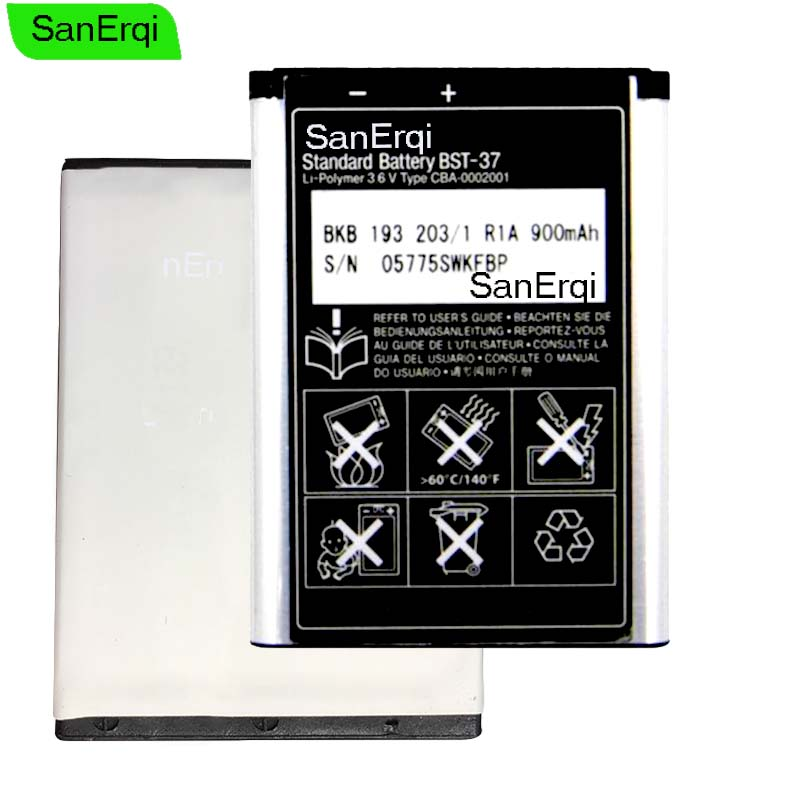10pcs BST-37 3.7V 900mAh Replacement Phone Battery For <font><b>Sony</b></font> <font><b>Ericsson</b></font> K608i Z530 K200i Z520i <font><b>K750</b></font> K600i K610i J100i W810i W800i image