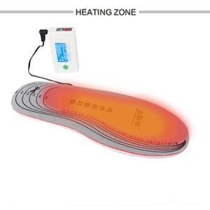 Image 4 - Warmspace النعال ساخنة قابلة للشحن 3800mAh أقدام الدافئة بطانة حذاء الحرارية الكهربائية القدم الشتاء تزلج النعال ساخنة في الهواء الطلق الرياضية