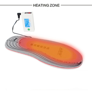 Image 4 - Warmspace Oplaadbare Verwarmde Inlegzolen 3800Mah Voeten Warm Schoen Pad Thermische Elektrische Voet Winter Ski Inlegzolen Verwarmde Outdoor Sport
