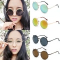Unisex Vintage Retro Women Men Glasses Round Cat Eye Sunglasses Shades Eyewear