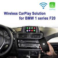 Joyeauto WIFI Drahtlose Apple Carplay Retrofit 1 serie F20 NBT 2013-2017 für BMW unterstützung Reverse Kamera Waze Spotify google Maps