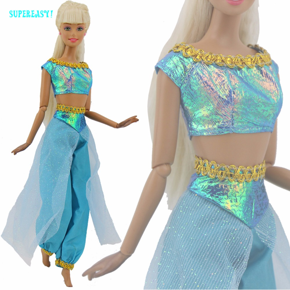 Fairy Tale Princess Outfit Wedding Party Dancing Aladdin Costumes ...