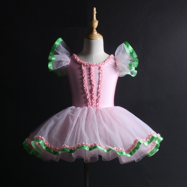 4d926afc8356 Fashion Princess For Girls Ballet Dress Pink Romantic Tutu Ballet ...