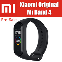 5ATM 22.1g Miband 4 Original Xiaomi Mi Band 4 Smart Bracelet Heart Rate Fitness 0.95 inch 135mAh On Cell Screen BT5.0 BLE