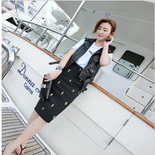 Handmade Diamond Beaded Skirt Stretch Slim Package Hip High Waist Black Bodycon Skirt Female